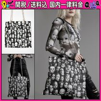 DOLLS KILL Casual Style Canvas Chain Totes