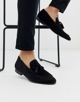 H by Hudson Loafers Suede Tassel Loafers & Slip-ons