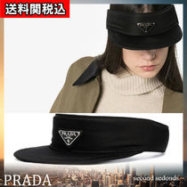 PRADA Unisex Street Style Hats & Hair Accessories