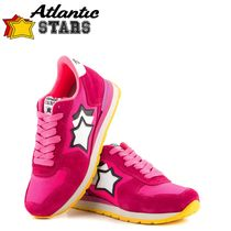 Atlantic STARS Star Rubber Sole Casual Style Suede Blended Fabrics