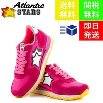 Atlantic STARS Star Casual Style Suede Blended Fabrics Street Style