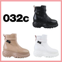 032c Street Style Plain Boots Boots