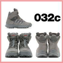 032c Street Style Collaboration Plain Low-Top Sneakers