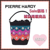 Pierre Hardy Casual Style Suede 2WAY Leather Purses Bucket Bags