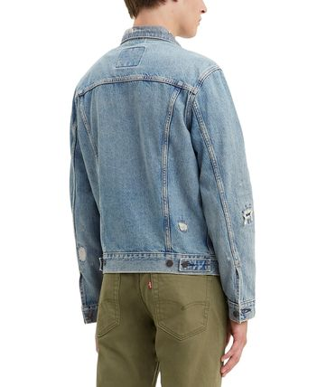 Denim Street Style Denim Jackets Logo Jackets