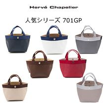 HERVE CHAPELIER Casual Style Office Style Handbags