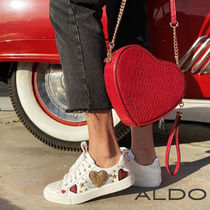 ALDO Heart Star Round Toe Rubber Sole Lace-up Casual Style