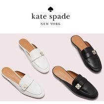 kate spade new york Plain Leather Loafer & Moccasin Shoes