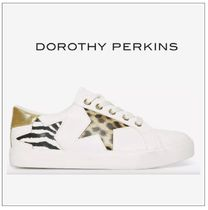 Dorothy Perkins Zebra Patterns Leopard Patterns Low-Top Sneakers