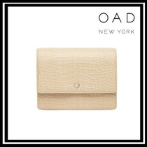 OAD NEW YORK Casual Style Leather Shoulder Bags