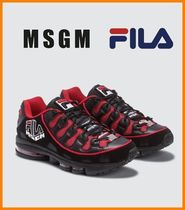 MSGM Collaboration Sneakers