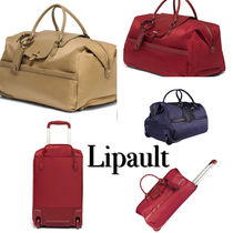 Lipault Casual Style Unisex Nylon 2WAY Plain Bags