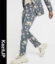 ASOS Flower Patterns Men Skinny Pants