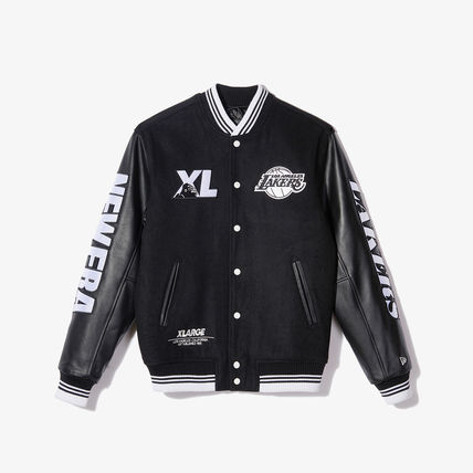 Casual Style Unisex Street Style Logo Outerwear