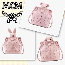 MCM Casual Style Street Style Other Animal Patterns Leather