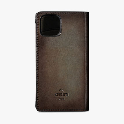 Leather iPhone 11 Pro Max Smart Phone Cases