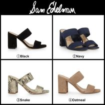 Sam Edelman Casual Style Suede Leather Party Style Elegant Style