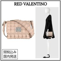 RED VALENTINO Casual Style Calfskin Party Style Home Party Ideas
