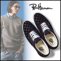 Ron Herman Suede Collaboration Sneakers