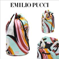 Emilio Pucci Casual Style Purses Bucket Bags