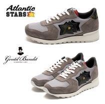 Atlantic STARS Star Camouflage Round Toe Rubber Sole Casual Style