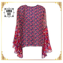 ANNA SUI Flower Patterns Shirts & Blouses