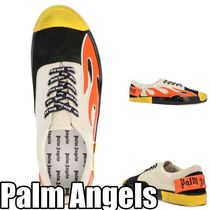 Palm Angels Street Style Leather Deck Shoes Loafers & Slip-ons