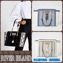River Island Faux Fur A4 Other Animal Patterns Office Style Python