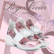 Roger Vivier Casual Style Party Style With Jewels Elegant Style