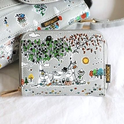 Faux Fur Other Animal Patterns Long Wallet  Accessories