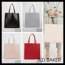 TED BAKER Plain Office Style Elegant Style Totes