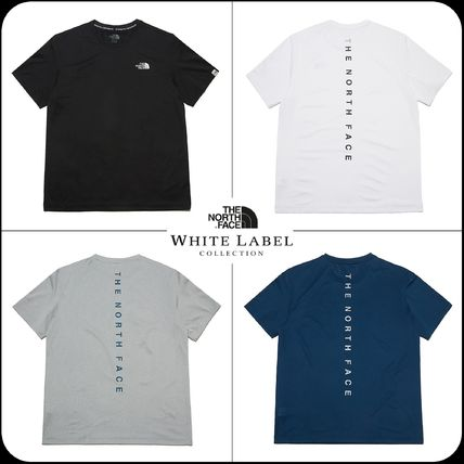 THE NORTH FACE More T-Shirts Unisex Street Style Cotton Logo T-Shirt Logo Outdoor