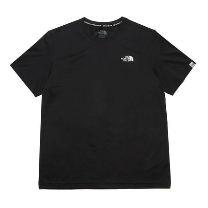 THE NORTH FACE More T-Shirts Unisex Street Style Cotton Logo T-Shirt Logo Outdoor 2