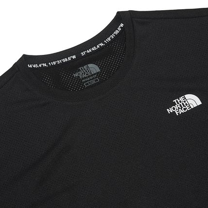 THE NORTH FACE More T-Shirts Unisex Street Style Cotton Logo T-Shirt Logo Outdoor 4