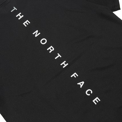 THE NORTH FACE More T-Shirts Unisex Street Style Cotton Logo T-Shirt Logo Outdoor 5