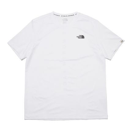 THE NORTH FACE More T-Shirts Unisex Street Style Cotton Logo T-Shirt Logo Outdoor 7