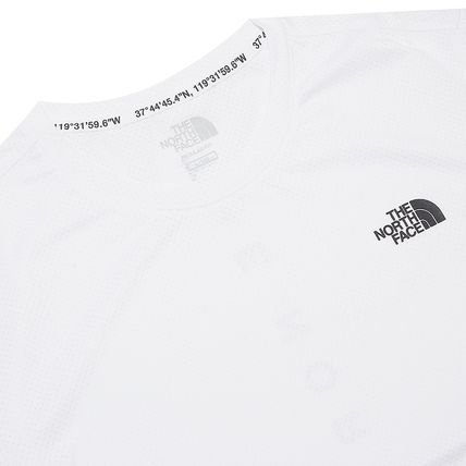 THE NORTH FACE More T-Shirts Unisex Street Style Cotton Logo T-Shirt Logo Outdoor 9