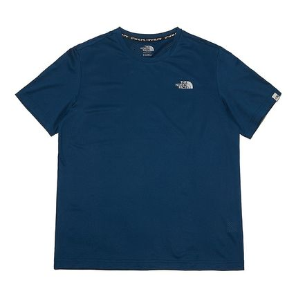 THE NORTH FACE More T-Shirts Unisex Street Style Cotton Logo T-Shirt Logo Outdoor 12