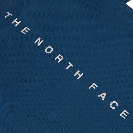 THE NORTH FACE More T-Shirts Unisex Street Style Cotton Logo T-Shirt Logo Outdoor 15