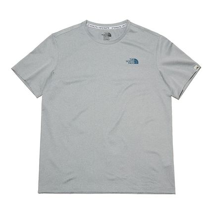 THE NORTH FACE More T-Shirts Unisex Street Style Cotton Logo T-Shirt Logo Outdoor 16