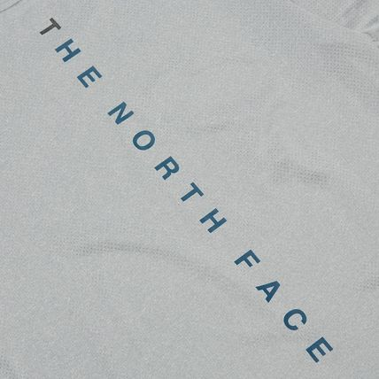 THE NORTH FACE More T-Shirts Unisex Street Style Cotton Logo T-Shirt Logo Outdoor 19