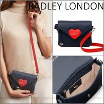 RADLEY Heart Casual Style Street Style Plain Leather Elegant Style