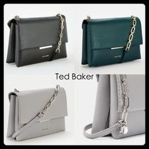TED BAKER Casual Style Blended Fabrics Chain Plain Leather