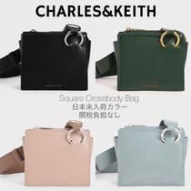 Charles&Keith Casual Style Faux Fur 2WAY Plain Party Style Elegant Style