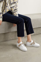 Alexandre Birman Casual Style Suede Leather Low-Top Sneakers