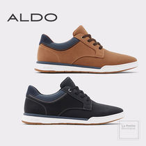ALDO Faux Fur Blended Fabrics Bi-color Plain Oversized Sneakers
