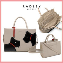 RADLEY Casual Style 2WAY Plain Leather Party Style Office Style