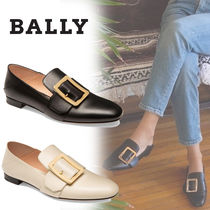 BALLY Casual Style Plain Leather Office Style