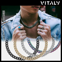 Vitaly Unisex Street Style Chain Stainless Necklaces & Chokers