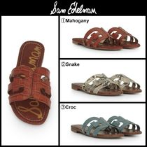 Sam Edelman Casual Style Leather Sandals Sandal